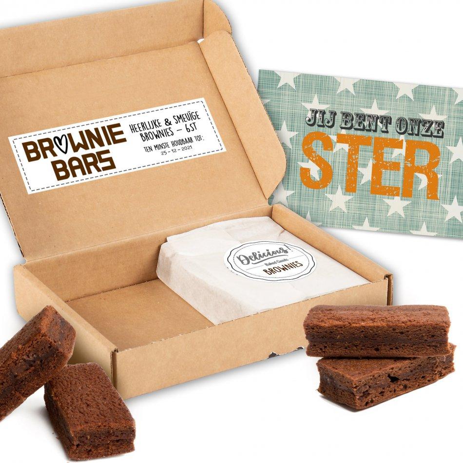 Brownies Jij Bent Een Ster